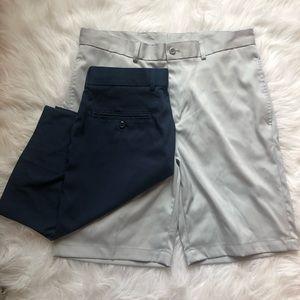 Slazenger Set of Two Men's Golf Shorts
